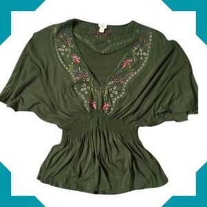 Anthropology top size L
